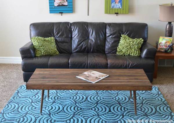 Diy Modern Coffee Table Straight