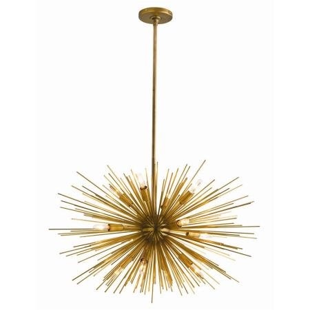 Girls Playroom Starburst Chandelier