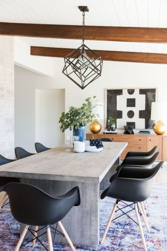 Mid-Century Modern Dining Room Decorating Tips and Ideas