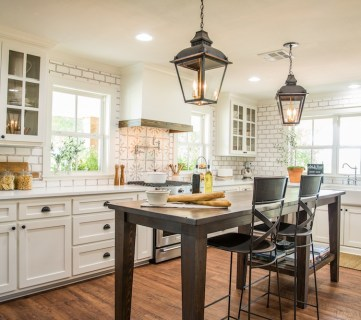 Get This Look: Fixer Upper Worm House Kitchen