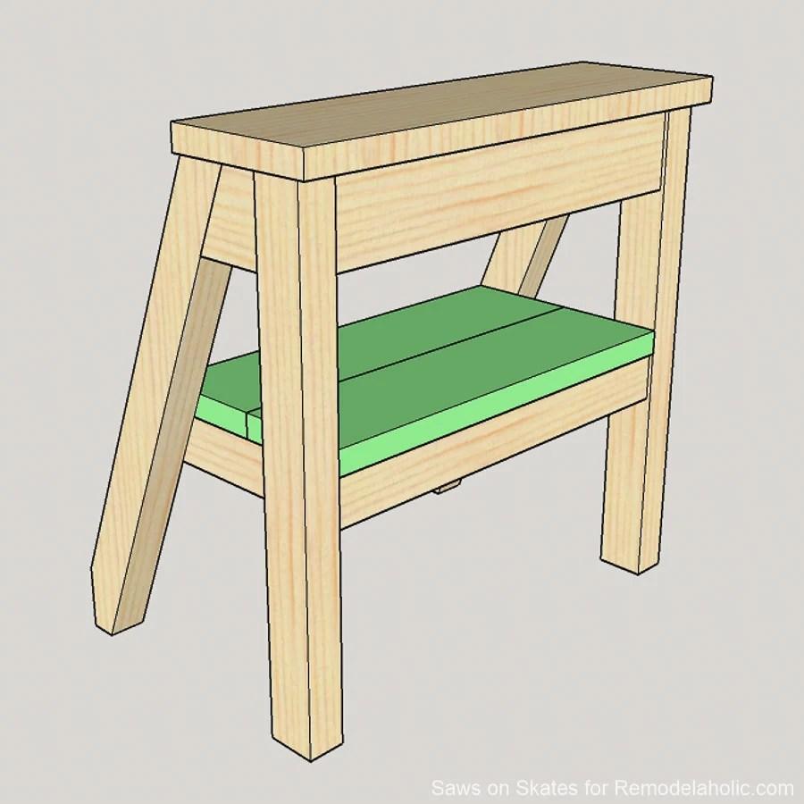 Diy Ladder Chair Sawsonskates 19