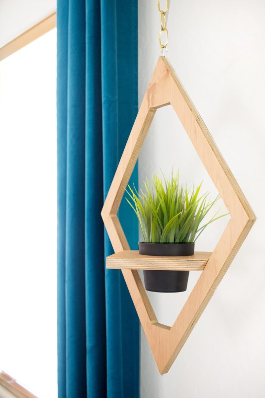 How To Make Hanging West Elm Knock Off Planter