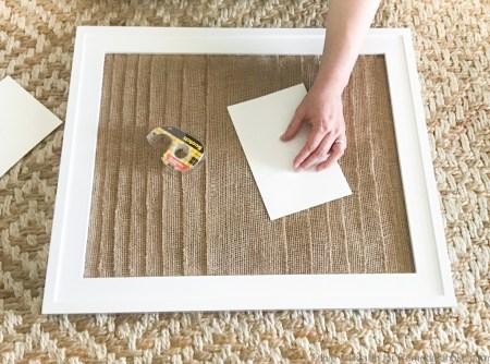 Layered Burlap Frame Mat Tableandhearth 9
