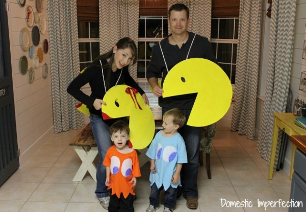 Pacman Family Costume Domestic Imperfection