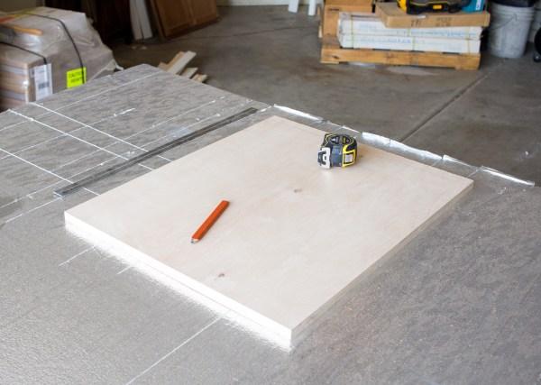 Plywood Hanging Planter Panel