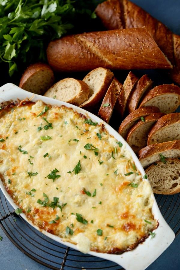 Artichoke Parmesan Dip 4 Remodelaholic