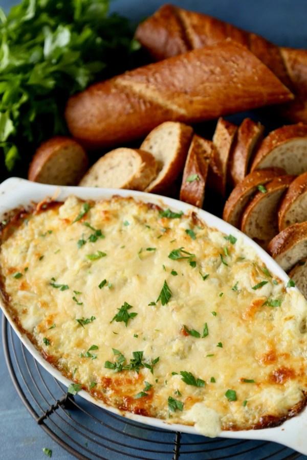 Artichoke Parmesan Dip 8 Remodelaholic