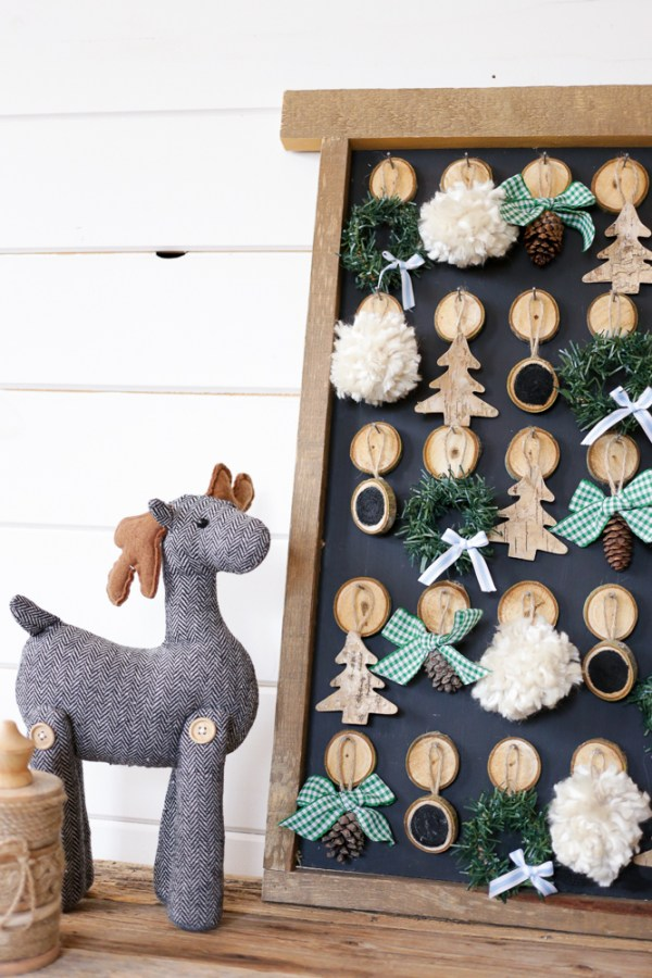 DIY Christmas Advent Calendar | This Mamas Dance For Remodelaholic 5