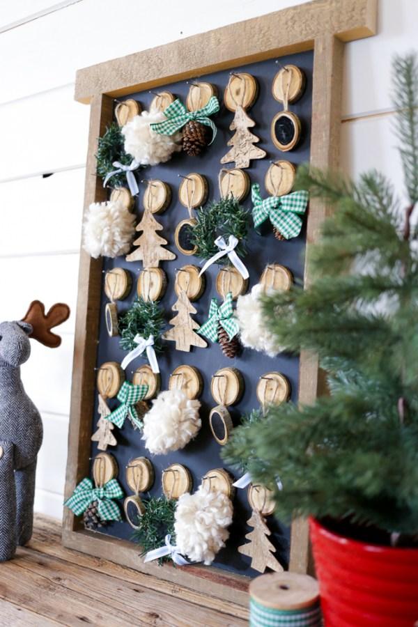 DIY Christmas Advent Calendar   This Mamas Dance For Remodelaholic 7