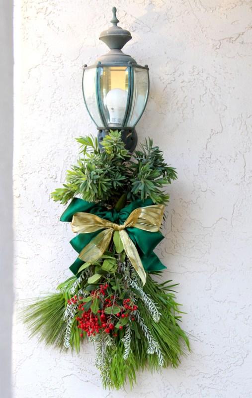 DIY Christmas Swag Apieceofrainbowblog Tutorial (13)