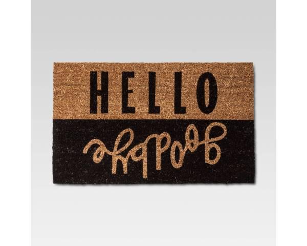 Hello Goodbye Doormat