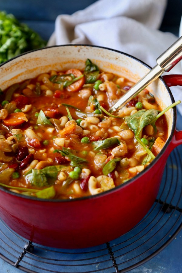 Minestrone Soup Remodelaholic 4