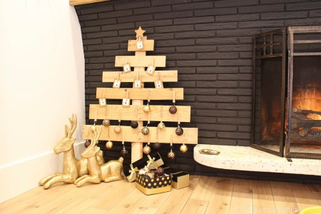 Pallet Wood Advent Calendar 18