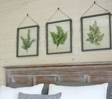 How to Make Your Own DIY Pressed Plant Frame