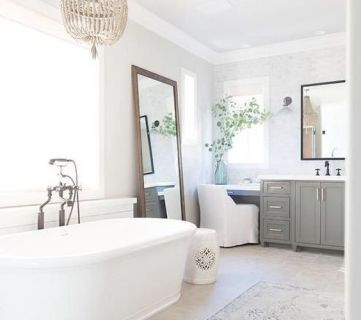 Postbox Designs Farmhouse Bathroom