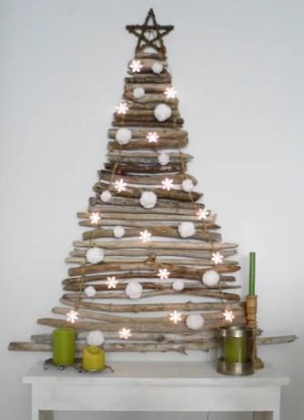 3 Arbol De Navidad Con Palos Stick Christmas Tree
