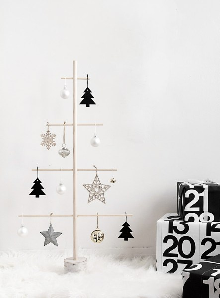 DIY Wood Dowel Tree 3