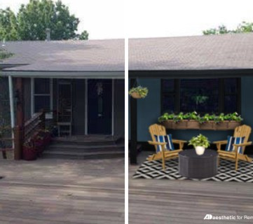 Featured Image   Curb Appeal for a Dark Home Exterior   Create beautiful, modern curb appeal for a dark home exterior with these tips. Great for situations where crisp white or bright colors aren't practical, such as country living down a dirt road.