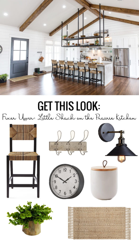 Fixer Upper Little Shack On The Prairie Kitchen 585x1024