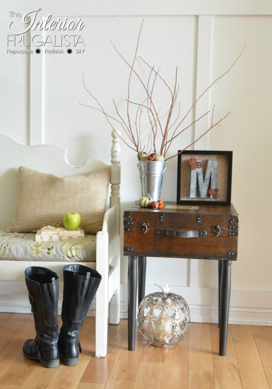 Friday Favorites Trunk Side Table And Pumpkins Remodelaholic