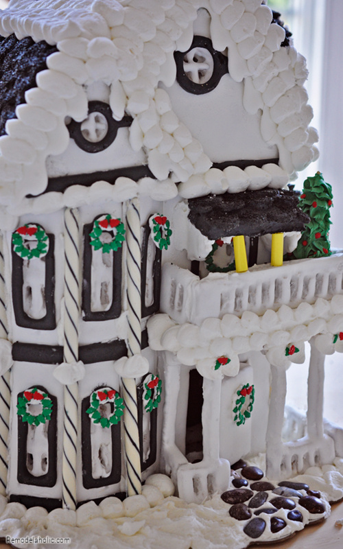 How To Build A Two Story Gingerbread House From Remodelaholic