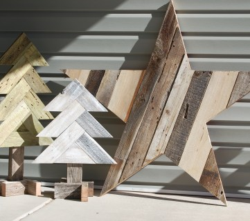 How to Build a Large Rustic Wood Star from Old Fence Boards