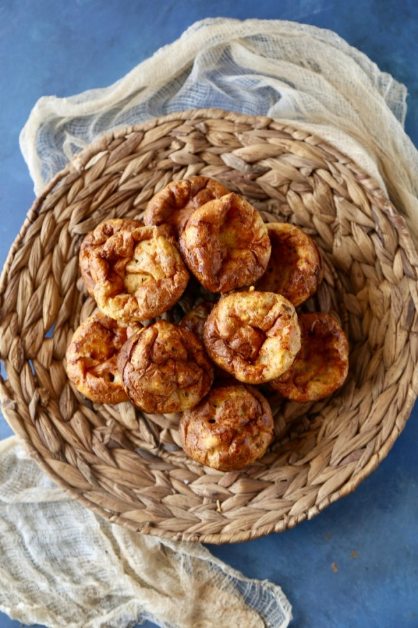 A perfect side for soups and cold nights try this recipe for Parmesan Popovers at Remodelaholic.com