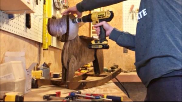 Drill Handle Hole
