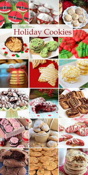 Holiday Cookies Collage