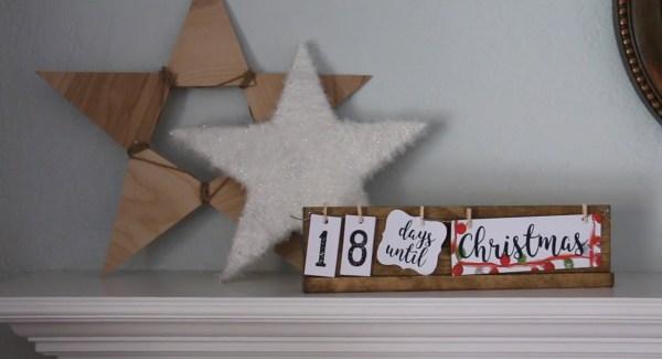 Holiday Countdown Board 04 Christmas