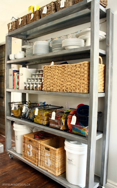 Rolling Pantry Shelves1