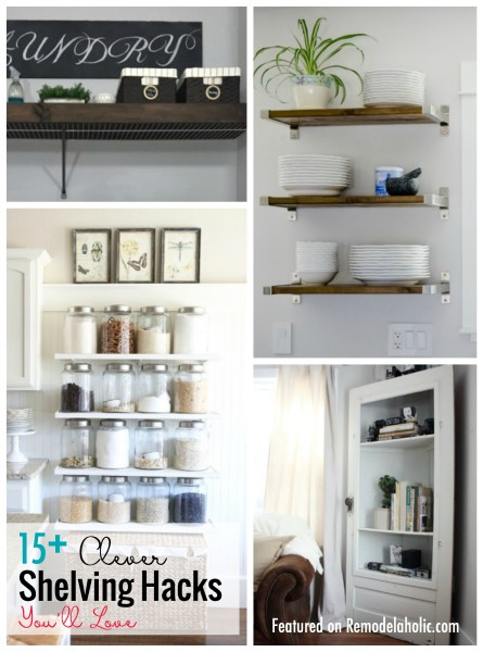 Shelving Hacks