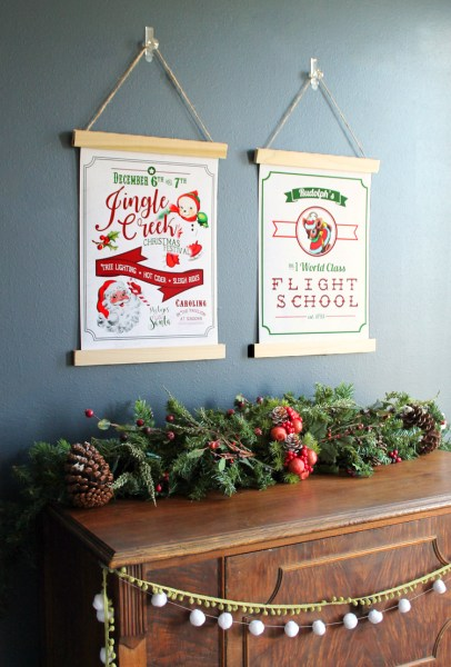 Thecraftpatchblog Vintage Christmas Posters Free Printables