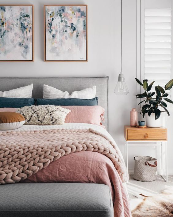 Blush Bedroom Inspiration 4
