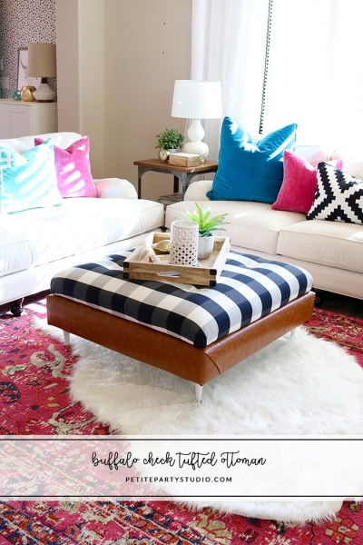 Buffalo Check Ottoman DIY1 700x1050
