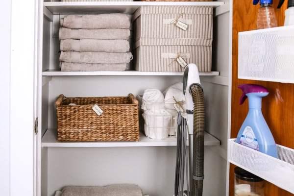 Linen Closet Makeover 3