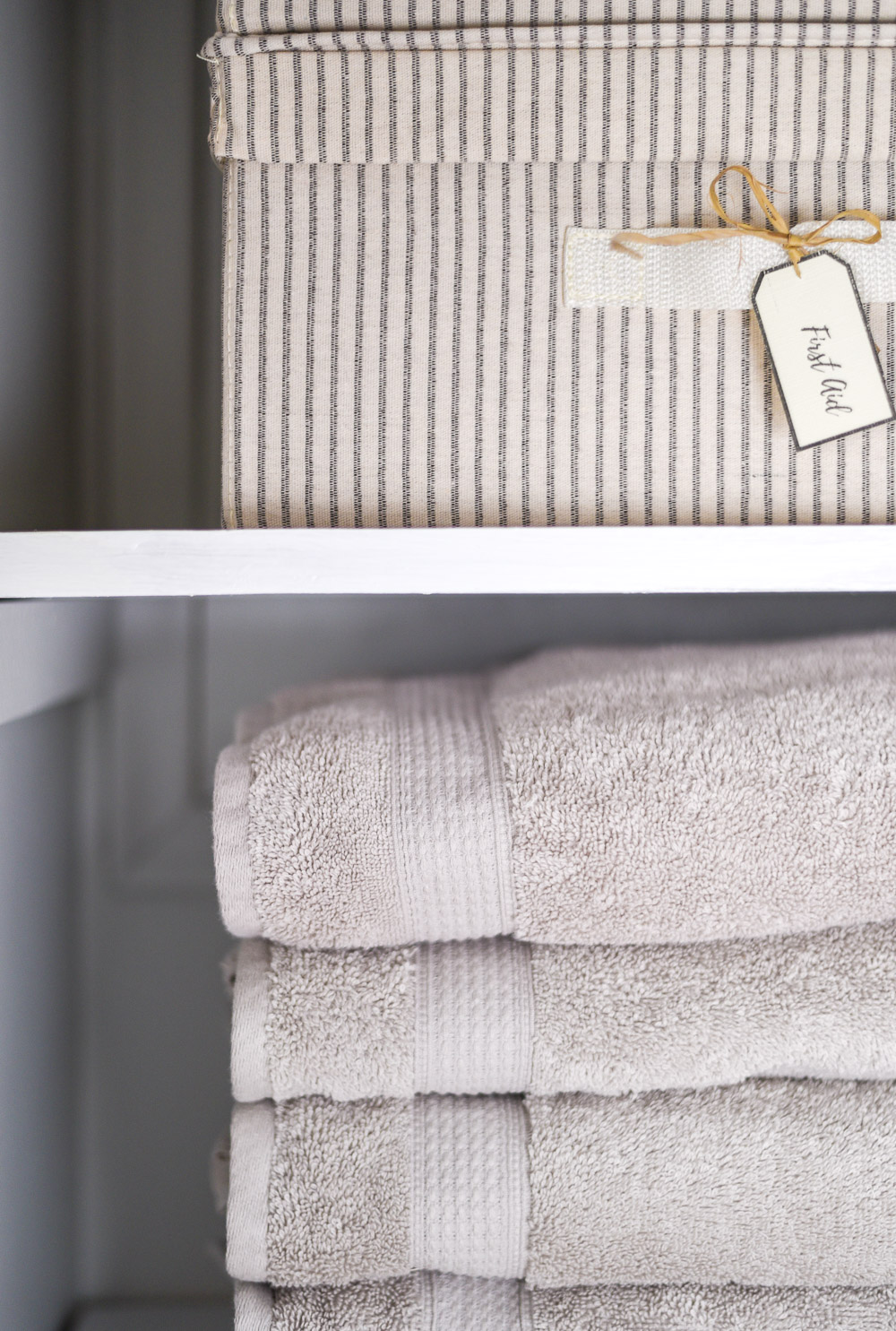 Linen Closet Makeover By The Weathered Fox 13