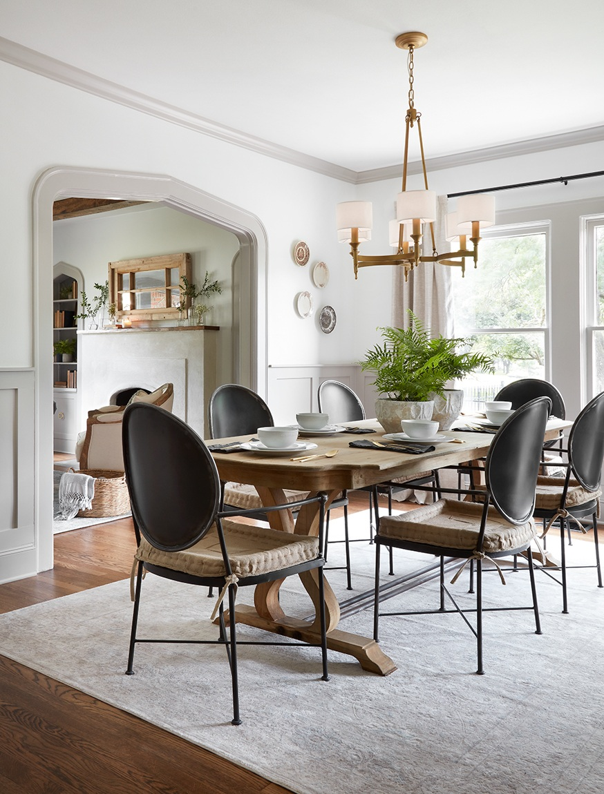 Fixer Upper Scrivano House Dining Room sources