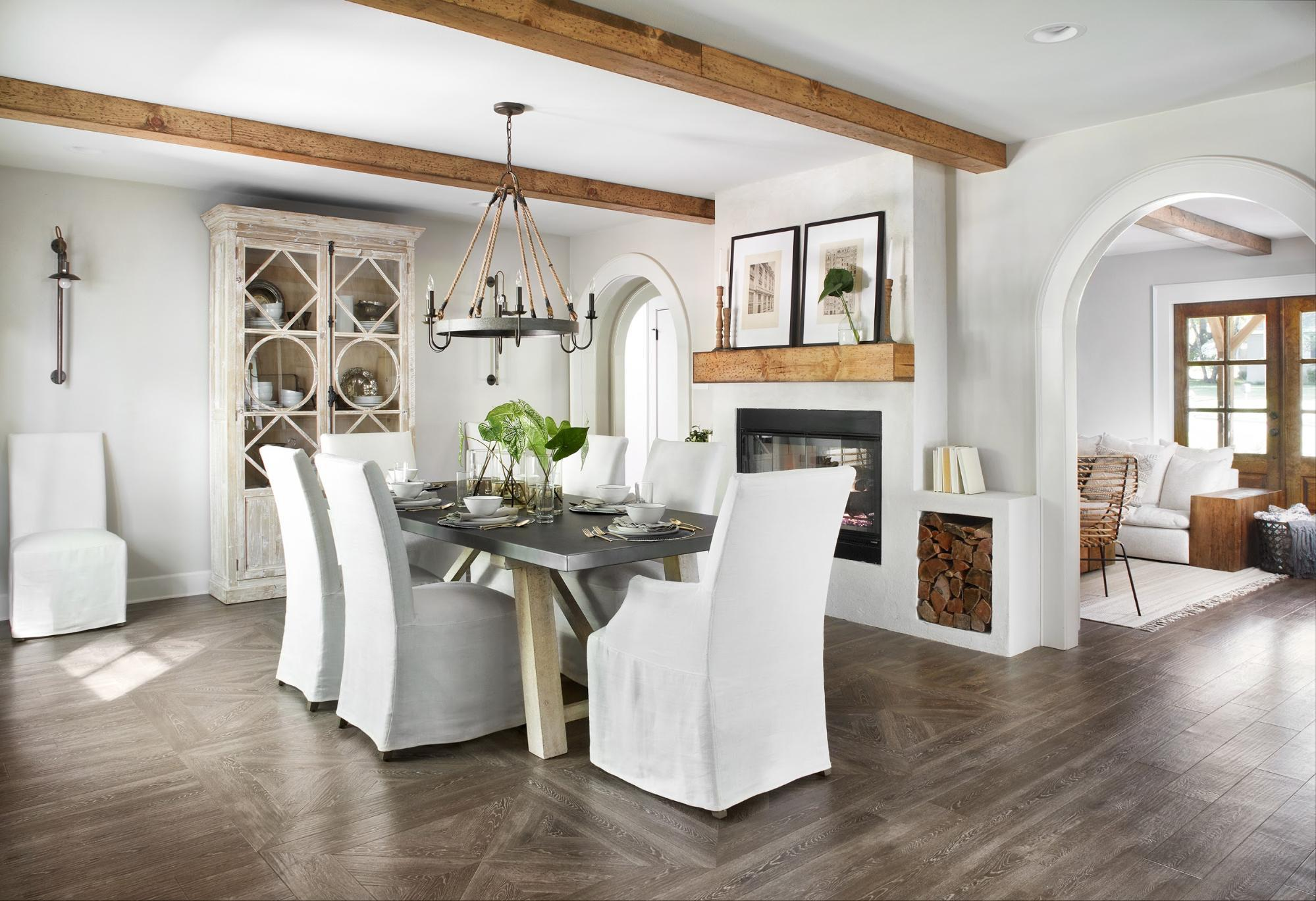 Get This Look: Tips For Decorating A Farmhouse Dinign Room, Fixer Upper Ivy  House