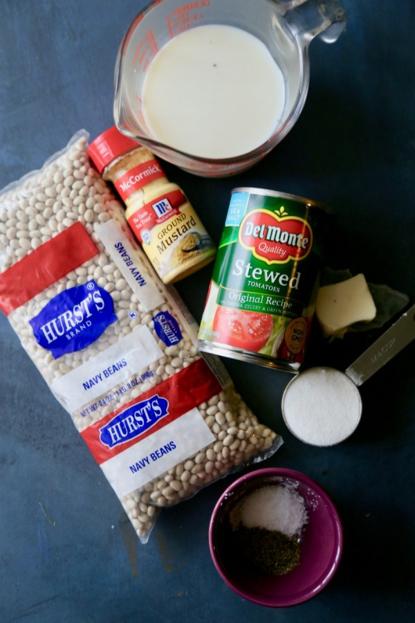 Creamy White Beans Recipe Ingredients