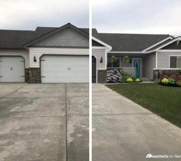 Real Life Rooms: Garage Door Curb Appeal Dilemma