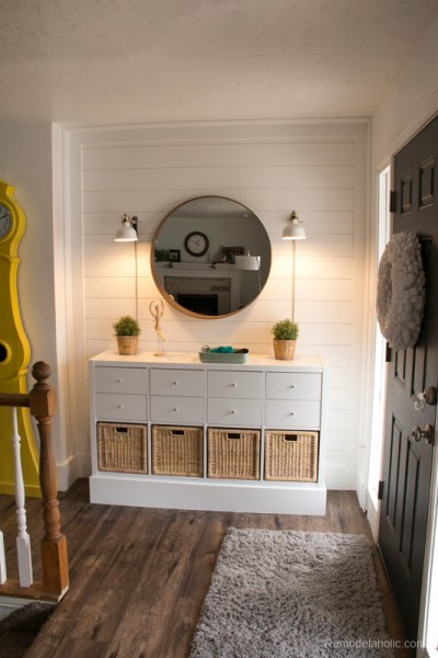 Ikea Entry Post @Remodelaholic 5