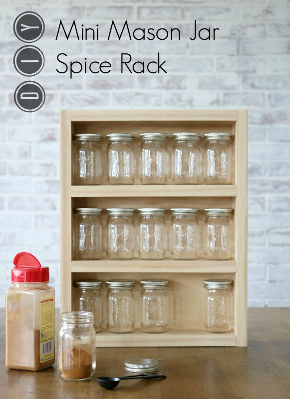 Mason Spice Rack By Sawdust 2 Stitches For Www.remodelaholic.com