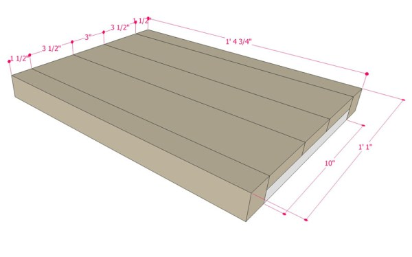 Multi Use Side Table Building Plan Apieceofrainbowblog (9)