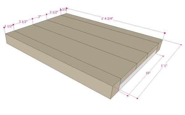 Multi Use Side Table Building Plan Apieceofrainbowblog (9)