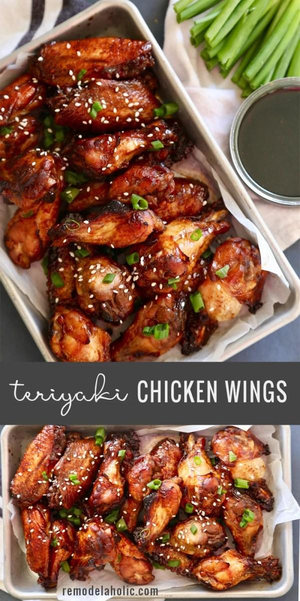 Remodelaholic Teriyaki Chicken Wings
