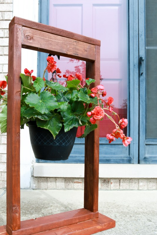 Best DIY Tutorials And Tips, Build A Hanging Planter Stand The Weathered Fox
