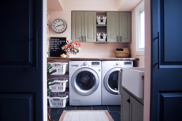 Best DIY Tutorials And Tips, Laundry Room Makeover The Learner Observer