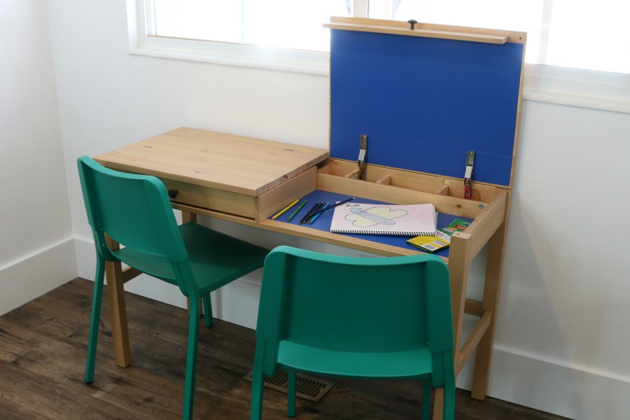 Remodelaholic diy ikea hemnes desk hack into double duty shared