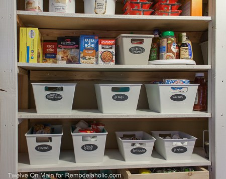 How To Organize Large Pantry On Budget (2 Of 9)